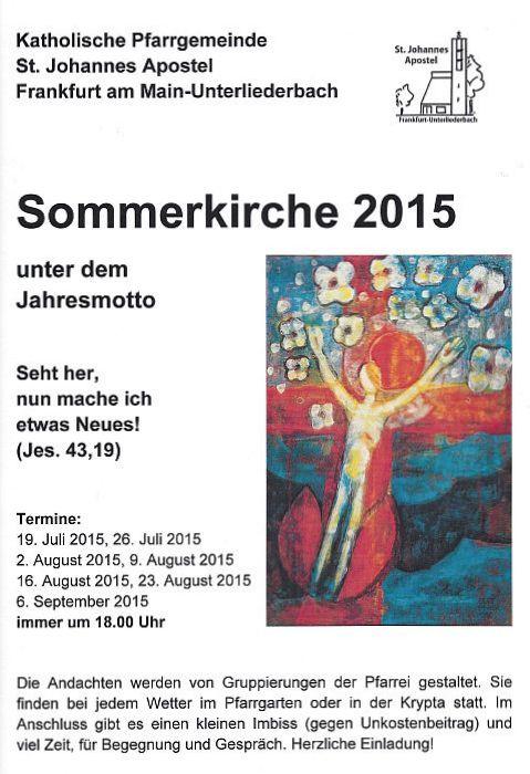 2015_Sommerkirche St. Johannes Apostel