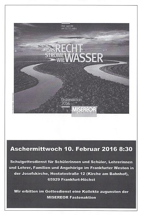 20160210_Schulgottesdienst Aschermittwoch