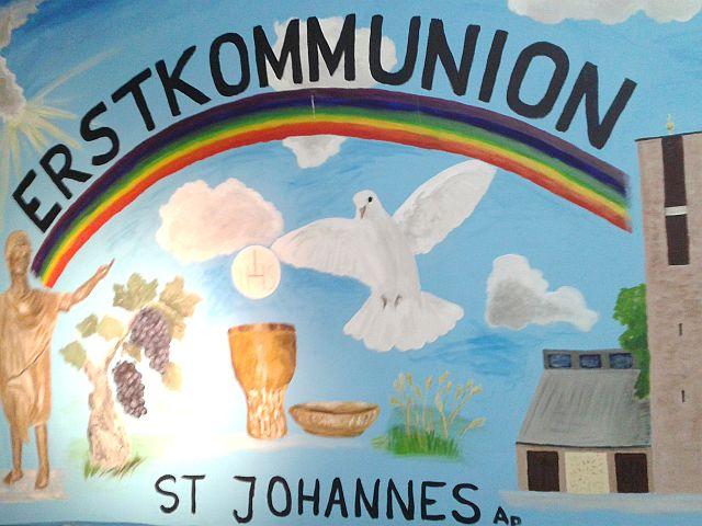 Sonntag, 1. Mai 2016 – Erstkommunion!