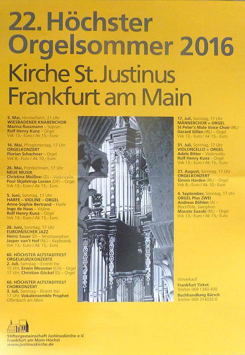 2016_ Hoechster Orgelsommer