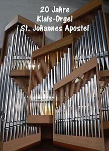 Konzert 20 Jahre Klais-Orgel