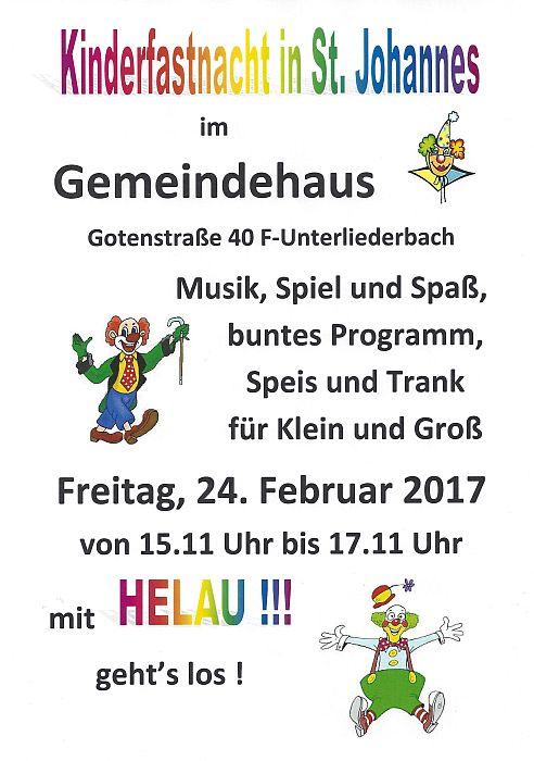 20170224 Kinderfasching St. Johannes